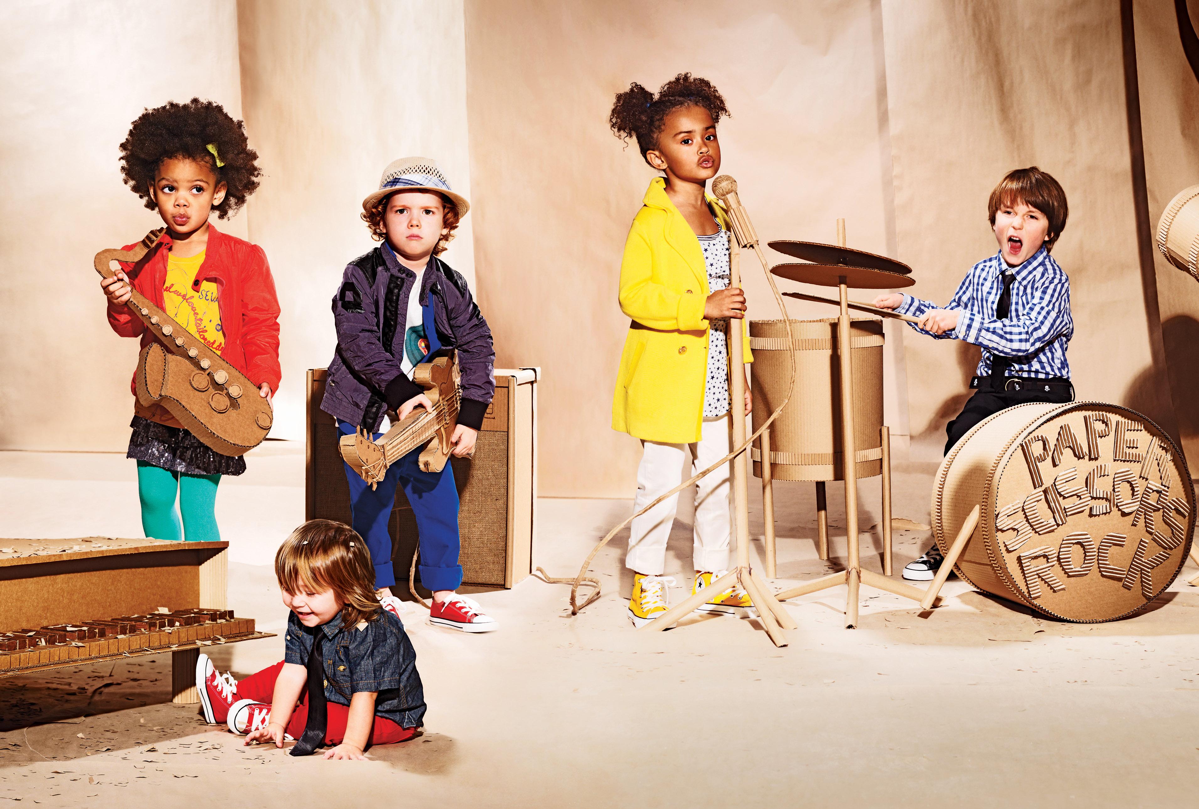 أهمية تعليم الموسيقا للأطفال