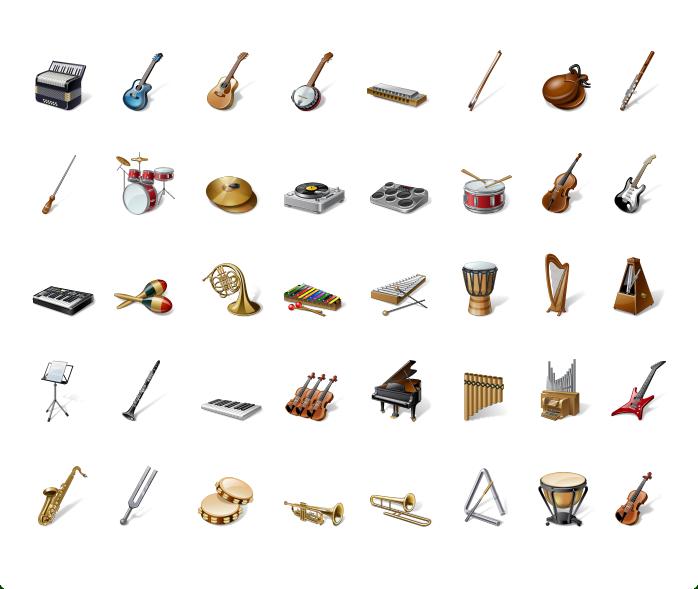 أقسام الآلات الموسيقية